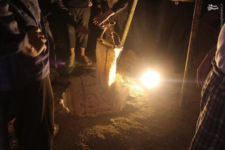 اول خرداد ۹۴ : نجات معجزهآسای جوان افغان از اعماق چاه